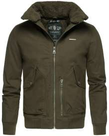 Herren Winter Jacke JIM - Olive