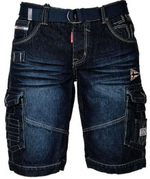 Geographical Norway Herren Jeans Cargo Shorts Peso