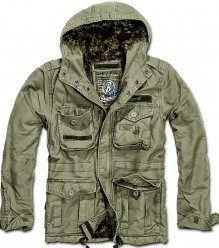 Herren Winter Jacke Vintage Diamond