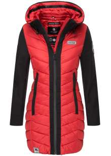 Navahoo Damen Winter Jacke, Mantel Flussperle