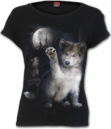 Damen T-shirt WOLF PUPPY