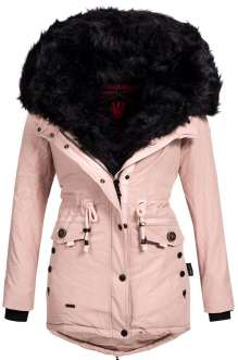 Navahoo Damen Wintermantel SWEETY - Pink