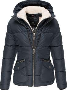 Damen Winter Jacke Navahoo Megan - Navy