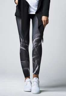 Damen Leggings Smoke