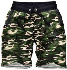 Modische Camouflage Jogging Shorts