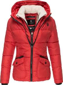 Damen Winter Jacke Navahoo Megan - Rot