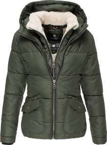 Damen Winter Jacke Navahoo Megan - Olive