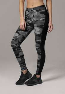 Damen Leggings Camo Stripe