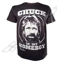 T-shirt Chuck is my Homeboy