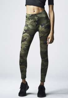 Damen Leggings Camo