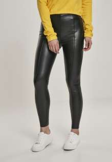 Frauen Leggings Faux Leather Skinny