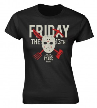 Damen T-shirt DAY OF FEAR