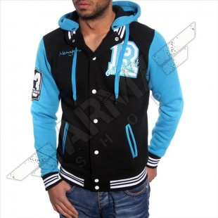 College Jacke mit Kapuze New York