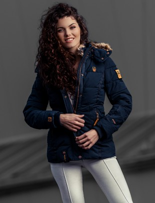 Marikoo Damen Winter Jacke Nekoo